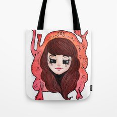 The Heart Queen Tote Bag