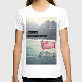 Grocery Cart Rage  T-shirt