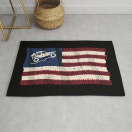 American Off Road 4x4 Overland Flag Rug
