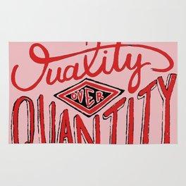 Quality/Quantity Rug