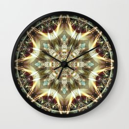 Mandalas from the Heart of Change 10 Wall Clock