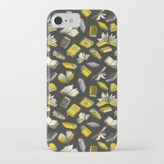 Spellbooks, Yellow iPhone 7 Slim Case