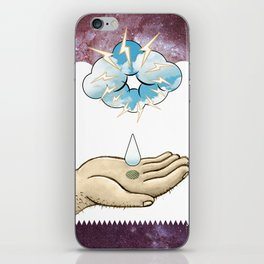 COSMIC DROP iPhone Skin