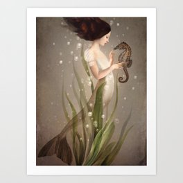 In the Sea Art Print