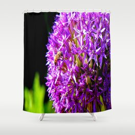 if i were a bee #2 Shower Curtain