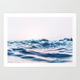 Ocean Water Photo Art Print