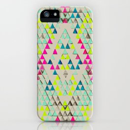 TRIANGLE SUMMER iPhone Case