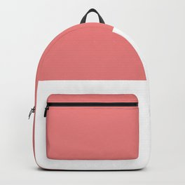 Salmon top Backpack