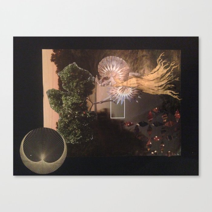 Another city another Love Canvas Print