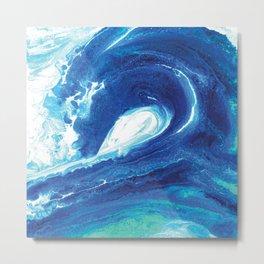 Wave Painting 7 Metal Print