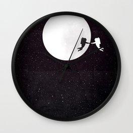 Moon alternative movie poster Wall Clock