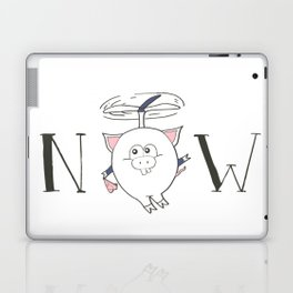 Pigs can fly Laptop & iPad Skin