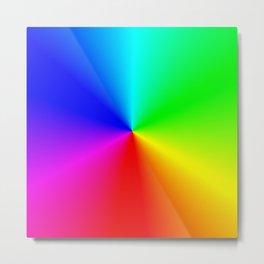 Colorwheel Metal Print