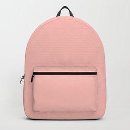impatiens pink Backpack