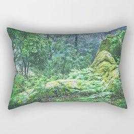 The Nature's green Rectangular Pillow
