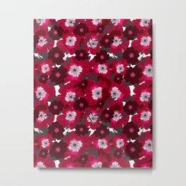Flowers Overflowing Metal Print