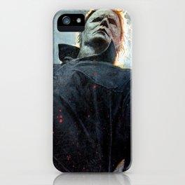 Micheal mayers halloween iPhone Case