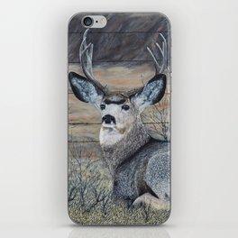 Mule Deer in the Brush iPhone Skin