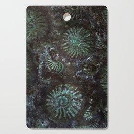 Ammonites and Trilobites Cutting Board