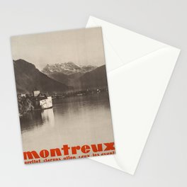 cartello montreux montreux Stationery Cards