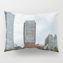 Cola sign in New York City Pillow Sham