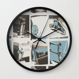 Headlights Wall Clock