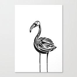 Urban Flamingo Canvas Print