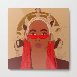 Cancer - Solange Knowles Metal Print