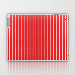Holiday Hexies Red Stripe Laptop & iPad Skin
