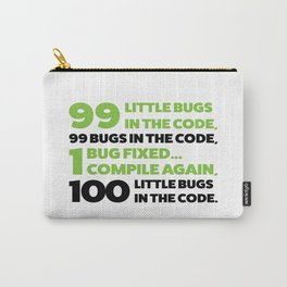 Little bugs in the code Carry-All Pouch