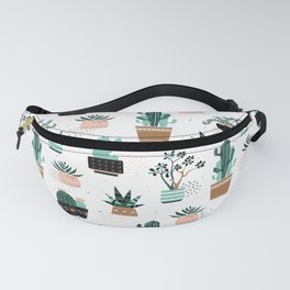 Cactuses and succulents Fanny Pack