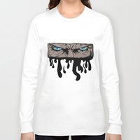 infamous Long Sleeve T-shirts featuring Comic eyes (infamous) by  Steve Wade ( Swade)