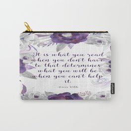 What You Read Carry-All Pouch