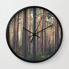 I LIVE HERE Wall Clock
