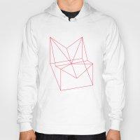 polygon Hoodies featuring Polygon by Rubraga