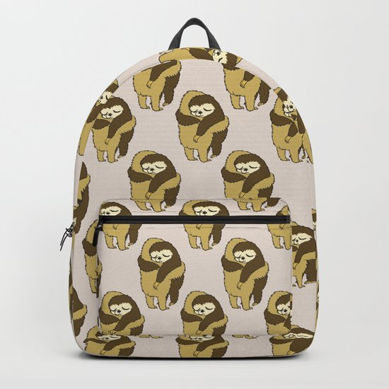 Sloth Hugs Backpack