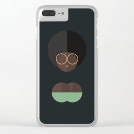 BLACK MAGIC WOMEN / Ayanna Clear iPhone Case