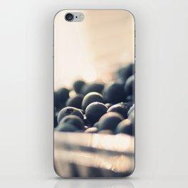 Bleus d'Amour iPhone Skin