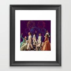 Hamilton's Party  Framed Art Print