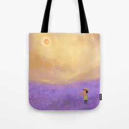 The Sun on a String Tote Bag