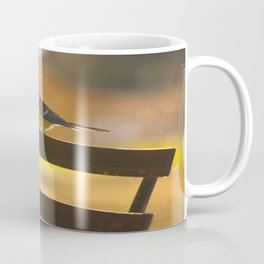 Great Tit On A Chair Coffee Mug