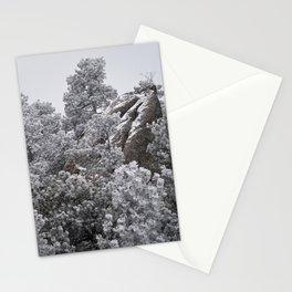 Winter Rock Stationery Cards