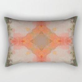 Antique Pastel Abstract Pattern Design Rectangular Pillow