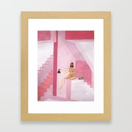 Only The Accessories Framed Art Print