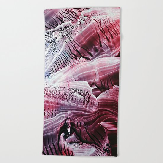 Fossils Beach Towel