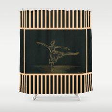 The ballerina Shower Curtain