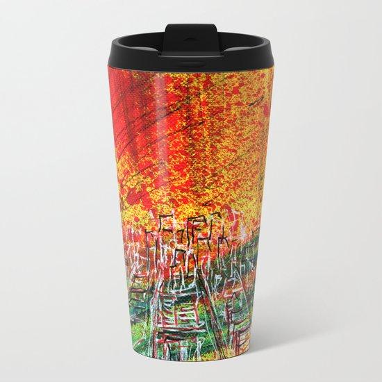 Take city Metal Travel Mug