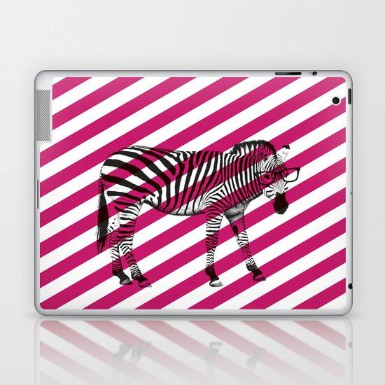 Nerd Zebra (Pink) Laptop & iPad Skin