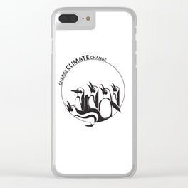 Change Climate Change Clear iPhone Case