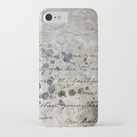 letter iPhone & iPod Cases featuring LETTER by ED design for fun